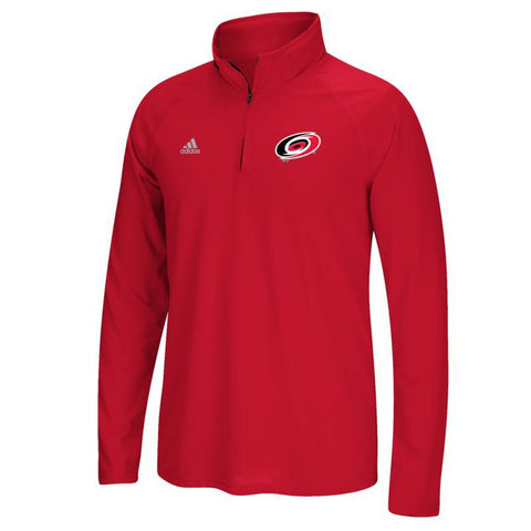 Carolina Hurricanes NHL Adidas Men's Left Defenseman Red Fleece