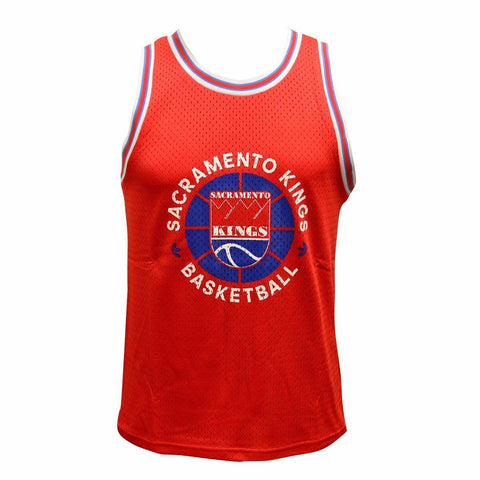 Sacramento Kings NBA Men's Red Adidas Originals Hardwood Classics Mesh Tank