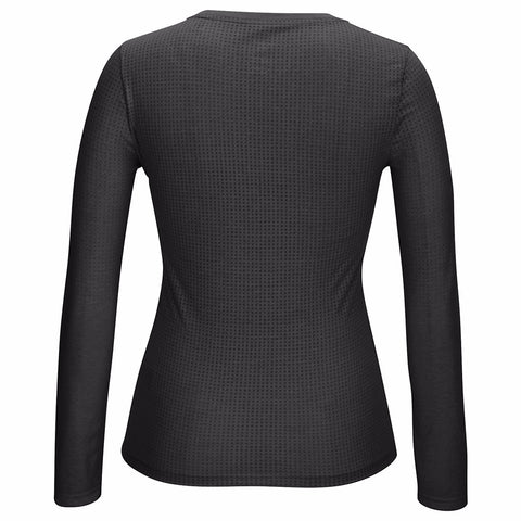 Adidas Aeroknit Climacool Performance Long Sleeve (Grey) T-Shirt Women's XS
