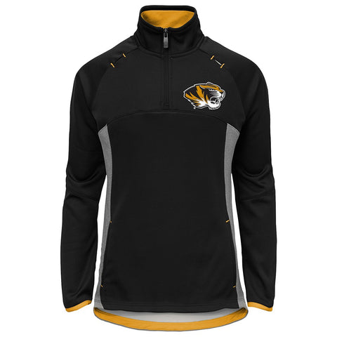 "Missouri Tigers NCAA ""Extreme"" Team Logo 1/4 Zip Pullover Jacket Girls Youth"