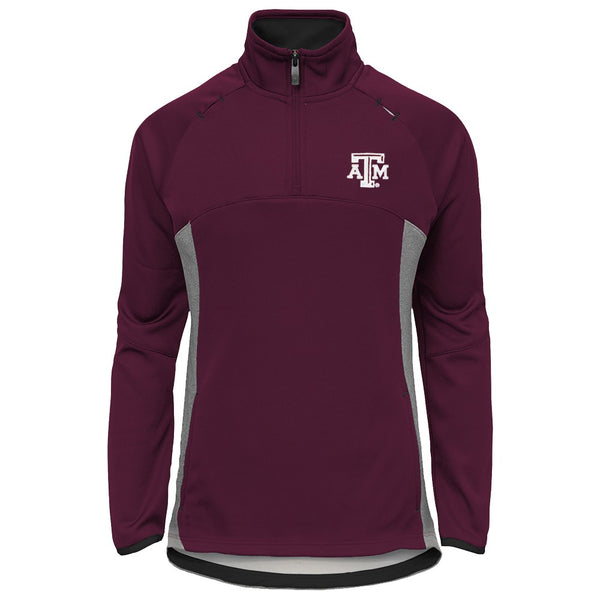 "Texas A&M Aggies NCAA ""Extreme"" Team Logo 1/4 Zip Pullover Jacket Girls Youth"