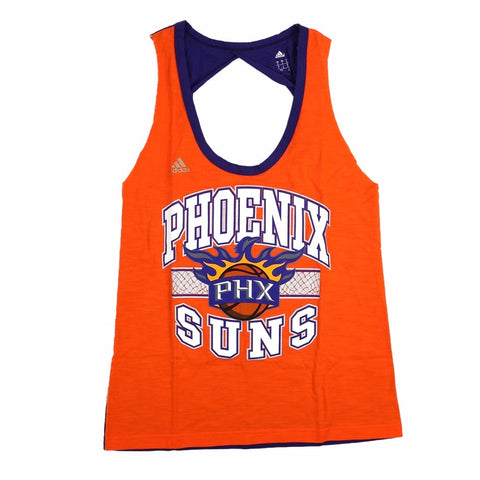 Phoenix Suns NBA Women's Orange Fashion Twist Tank Top