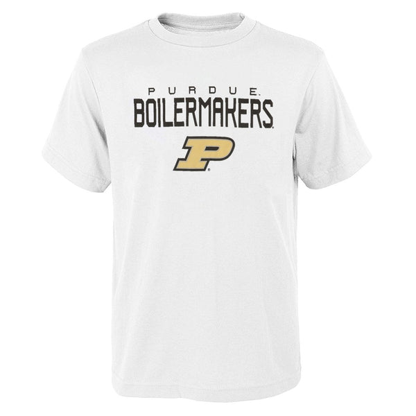 "Purdue Boilermakers NCAA Youth White ""Involution"" Graphic T-Shirt"