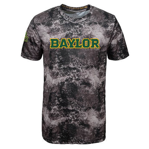 Baylor Bears NCAA Outerstuff Youth Black Sublimated Dri-Tek T-Shirt