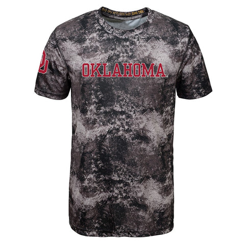 Oklahoma Sooners NCAA Outerstuff Youth Black Sublimated Dri-Tek T-Shirt