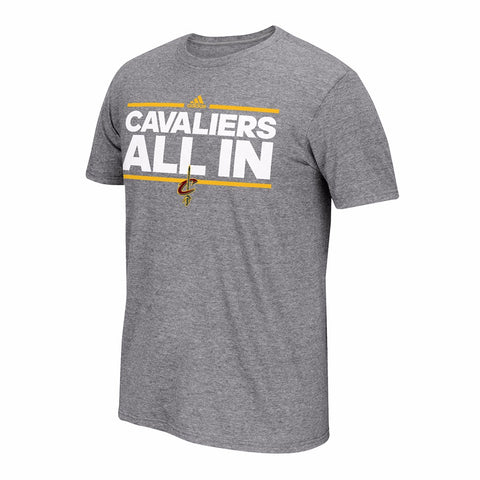 Cleveland Cavaliers NBA Men's Grey Neue Phrase Climalite Performance T-Shirt