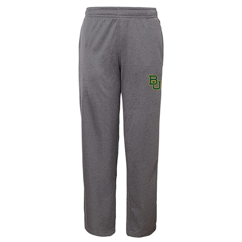 Baylor Bears NCAA Basic Team Logo Grey Track Pants Youth (S-XL)