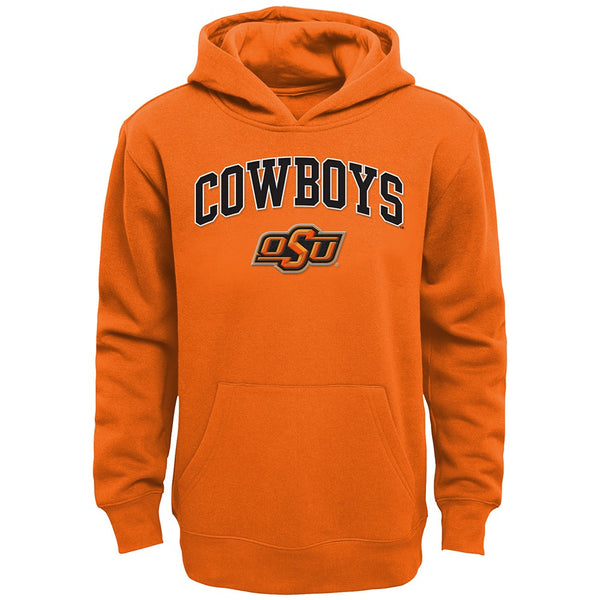 Oklahoma State Cowboys NCAA Primary Team Logo Pullover Hoodie Fleece Youth S-XL