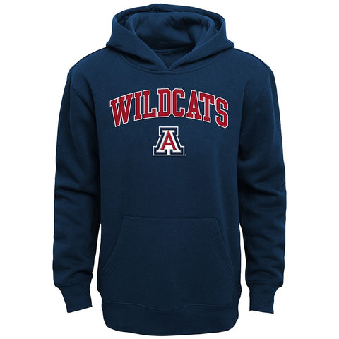 Arizona Wildcats NCAA Primary Team Logo Pullover Hoodie Fleece Youth (S-XL)