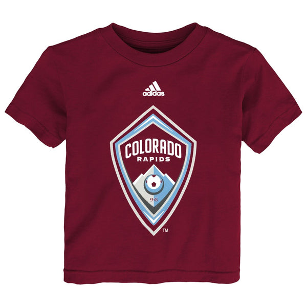 "Colorado Rapids Adidas MLS Toddler Maroon ""Team Logo"" Graphic T-Shirt"