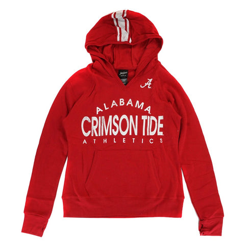 "Alabama Crimson Tide NCAA Girls Red ""Victory"" Graphic Pullover Hoodie"