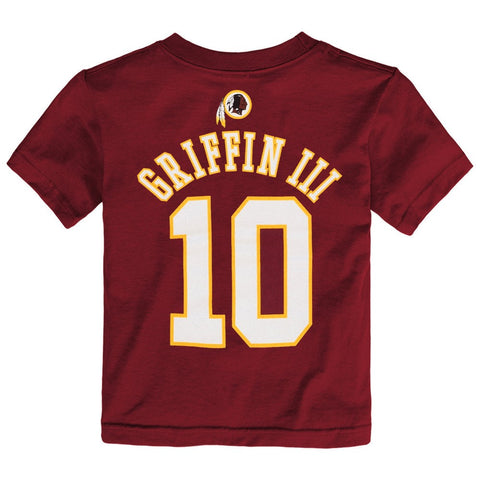 "Robert Griffin iii NFL Washington Redskins ""Mainliner"" Jersey T-Shirt Toddler"