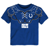 "Indianapolis Colts Outerstuff NFL Toddler Blue ""Shoulder Pads"" T-Shirt"