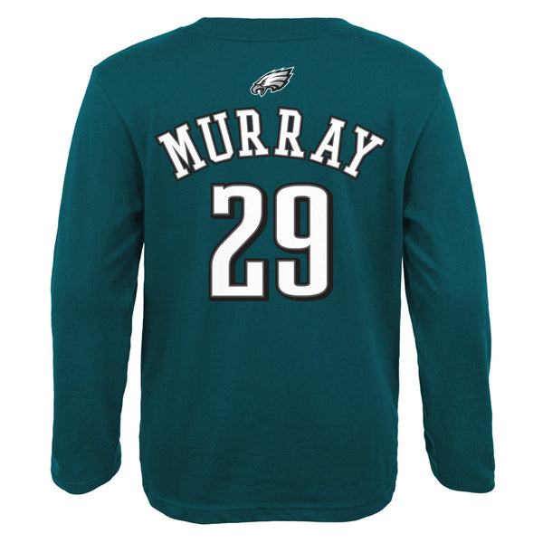 DeMarco Murray NFL Philadelphia Eagles Teal Long Sleeve Jersey T-Shirt Toddler