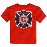 "Chicago Fire Adidas MLS Toddler Red ""Primary One"" T-Shirt"
