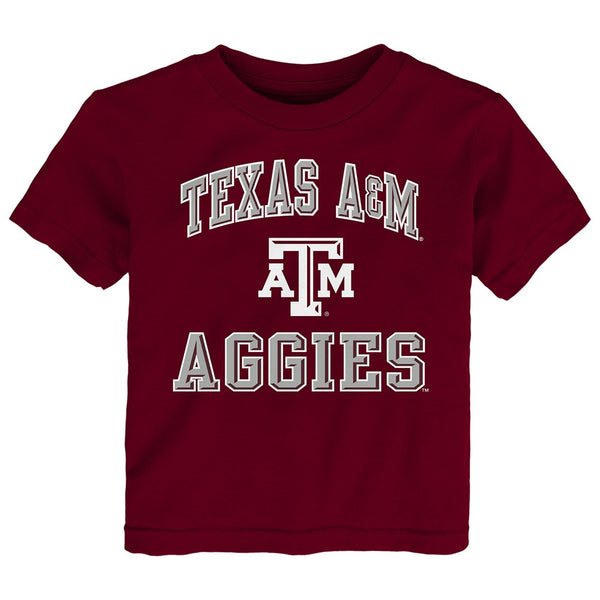 "Texas A&M Aggies NCAA Toddler Maroon ""Ovation"" T-Shirt"