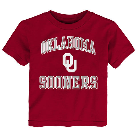 "Oklahoma Sooners NCAA Toddler Red ""Ovation"" T-Shirt"