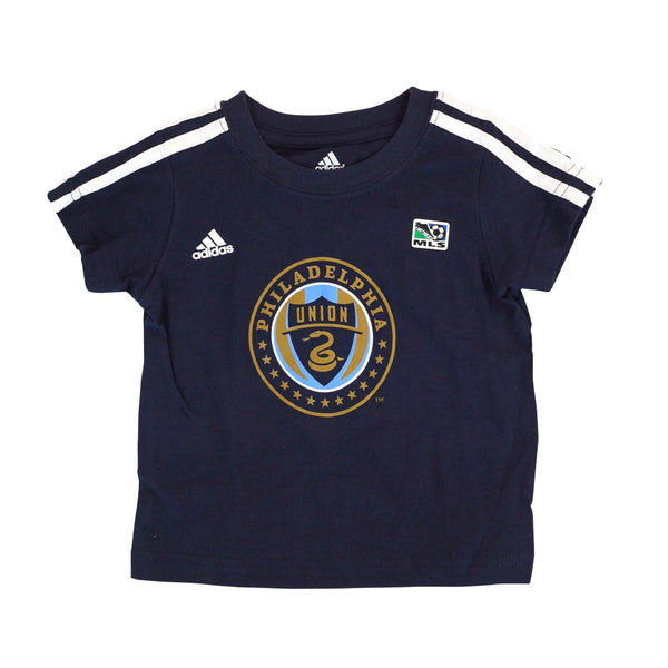 "Philadelphia Union Adidas MLS Toddler Navy Blue ""Diamond Tee Chase"" T-Shirt"