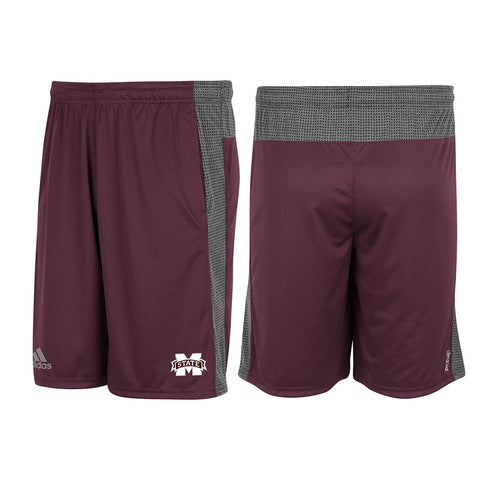 Mississippi State Bulldogs Adidas NCAA Men's  Aeroknit Climacool Shorts
