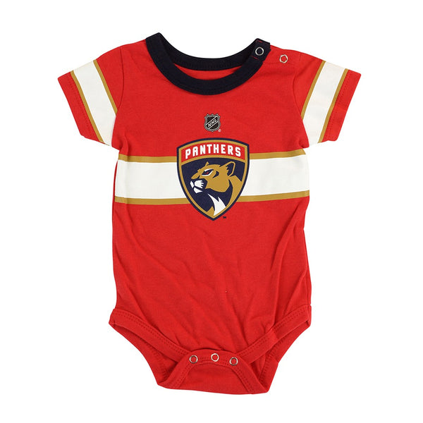 Florida Panthers NHL Outerstuff Newborn Red Hockey Jersey Creeper