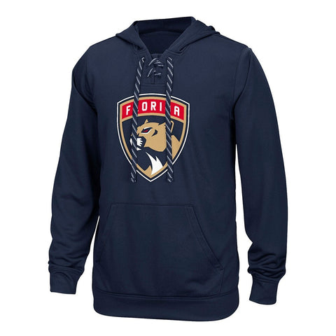 Florida Panthers Reebok Center Ice TNT Speedwick Navy Pullover Hoodie Men's