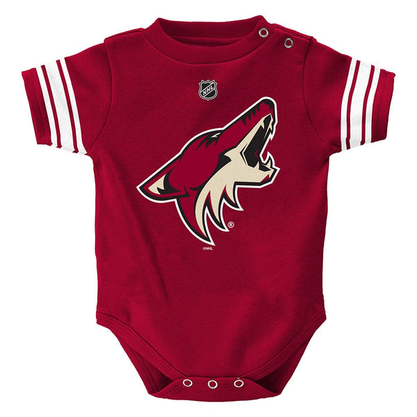 Arizona Coyotes NHL Outerstuff Infant Maroon Hockey Jersey Creeper