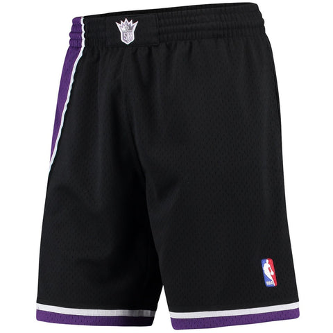 2000-01 Sacramento Kings Mitchell & Ness  Road Black Throwback Swingman Shorts