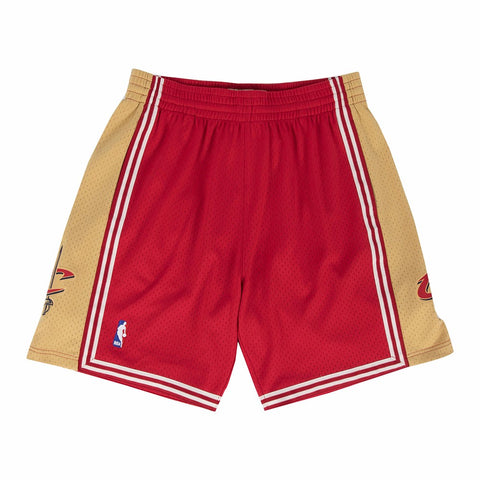 Cleveland Cavaliers NBA Men's Mitchell & Ness 2003-04 Road Wine Swingman Shorts