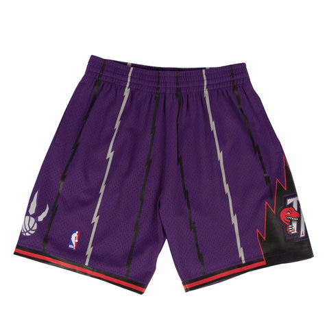 1998-99 Toronto Raptors Mitchell & Ness  Road Purple Throwback Swingman Shorts