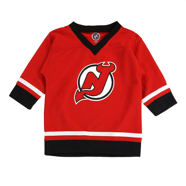 New Jersey Devils NHL Toddler Red Replica Jersey