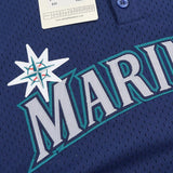 Ken Griffey Jr 1995 Seattle Mariners Mitchell & Ness Authentic BP Jersey Men's