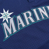 Randy Johnson 1995 Seattle Mariners Mitchell & Ness Authentic BP Jersey Men's