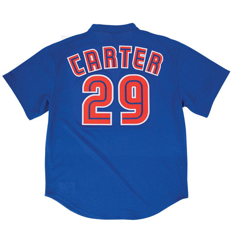Joe Carter 1997 Toronto Blue Jays Mitchell & Ness Authentic BP Blue Jersey Men's