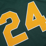 Rickey Henderson 1998 Oakland Athletics Mitchell & Ness Batting Practice Jersey