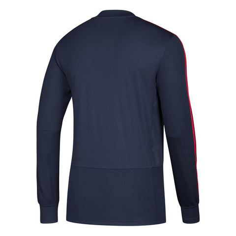 Chicago Fire MLS Adidas Men's Navy Blue Climacool Long Sleeve Training Jersey