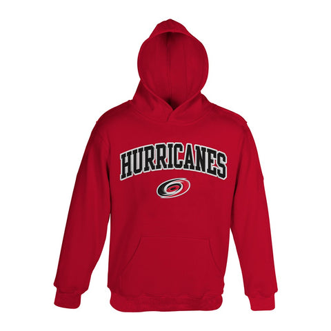 Carolina Hurricanes NHL Primary Team Logo Red Pullover Hoodie Boys Youth (4-18)