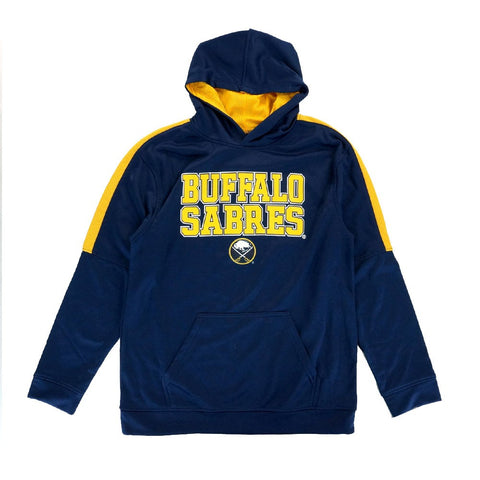 Buffalo Sabres NHL Team Logo Performance Pullover Hoodie Fleece Boys Youth SIzes