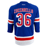 Mats Zuccarello New York Rangers Reebok NHL Youth Home Blue Hockey Jersey