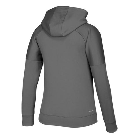 "Louisville Cardinals NCAA Adidas Women's ""Boxed In"" Grey Hoodie"