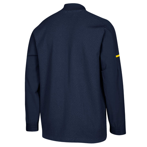 Michigan Wolverines NCAA Adidas Men's 2018 Sideline Navy Squad Bomber Jacket