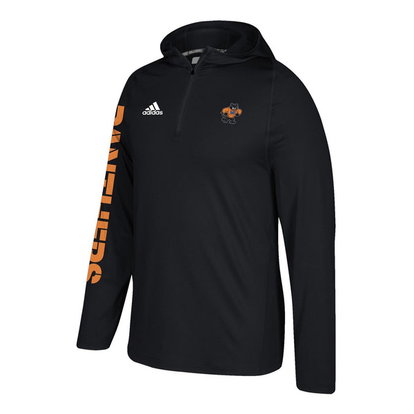 Morton College Panthers Adidas NCAA Men's Black Sideline Training Hoodie (3XL)
