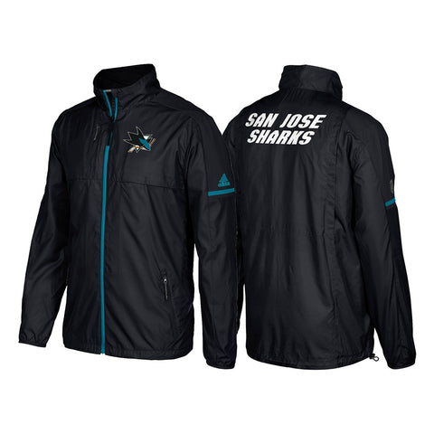 San Jose Sharks Adidas NHL Men's Authentic Pro Rink (Player Version) Jacket