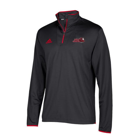 Jacksonville State Gamecocks NCAA Adidas Men's 2018 Sideline Black L/S Knit