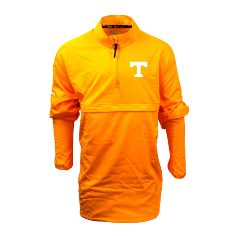 Tennessee Volunteers NCAA Adidas Men's Gold Game Built 1/4 Zip  Woven Jacket