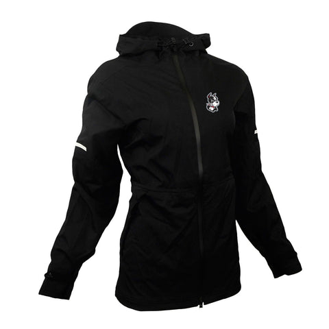 Boston University Terriers NCAA Women's ClimaWarm Black Game Built Rain Jacket