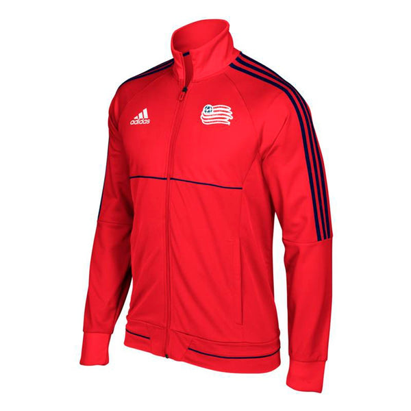 New England Revolution MLS Men's Sideline Red Full-Zip Anthem Track Jacket
