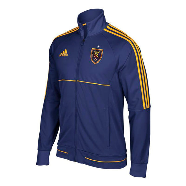 Real Salt Lake MLS Adidas Men's Sideline Purple Full-Zip Anthem Track Jacket