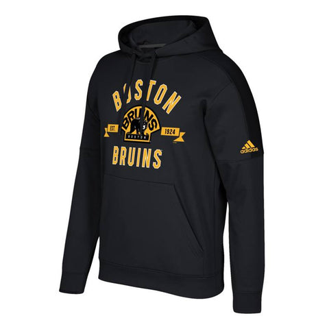 "Boston Bruins NHL Adidas Men's Black ""Misconduct"" Pullover Hoodie"