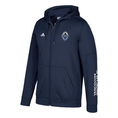 "Vancouver Whitecaps FC MLS Adidas Men's Navy Blue ""Armed"" Tech Fleece Hoodie"