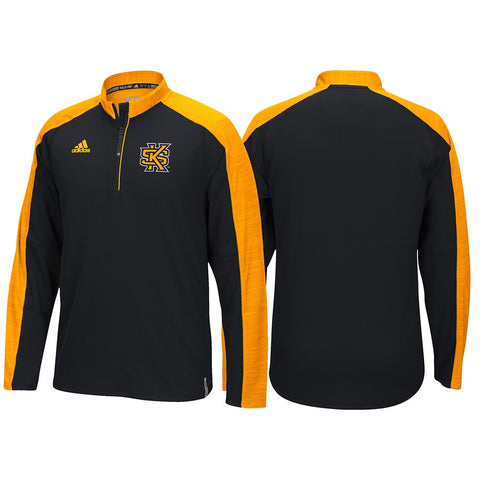 Kennesaw State Owls Adidas NCAA Men's Black Sideline Climalite Knit